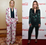 Olivia Wilde In Rachel Zoe & Elie Saab - CinemaCon 2019