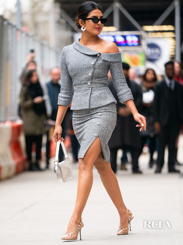 Priyanka Chopra Was All Business For The 'Women in the World' Summit in Ralph & Russo Couture