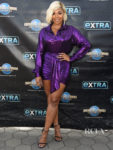 Purple Reigns For Ashanti's Extra Visit