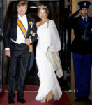 Queen Maxima of The Netherlands Gives This Stella McCartney Gown Its Third Outing