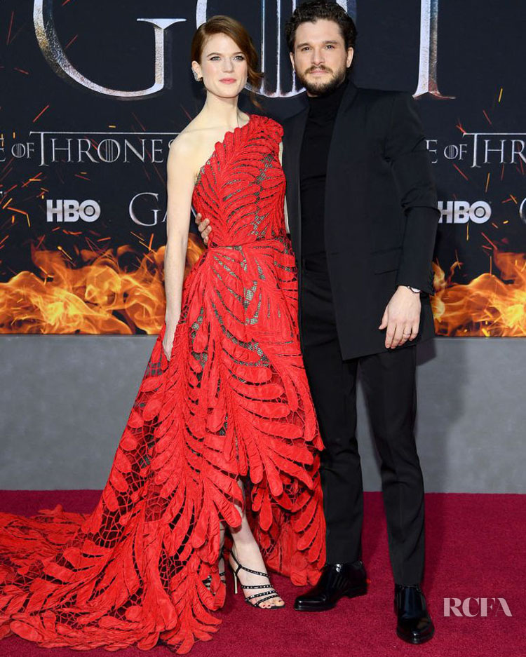 Rose Leslie and Kit Harington - 'Game Of Thrones' Season 8 New York Premiere