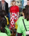 Scarlett Johansson Fall Florals For Avengers Universe Unites