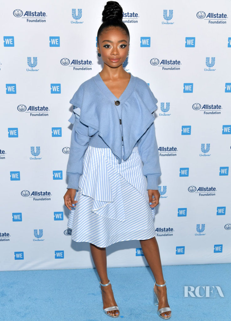 Skai Jackson Was Deconstructed In ADEAM For WE Day