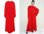 Sofia Carson's Valentino Silk Crêpe Gown
