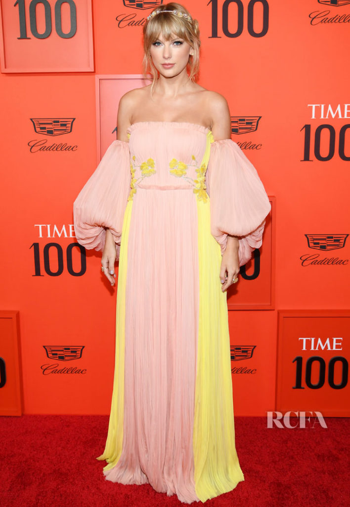 Taylor Swift In J. Mendel - Time 100 Gala