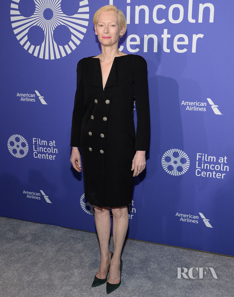Tilda Swinton Wears Chanel To The Film Society Of Lincoln Center's 50th Anniversary Gala in Chanel Couture