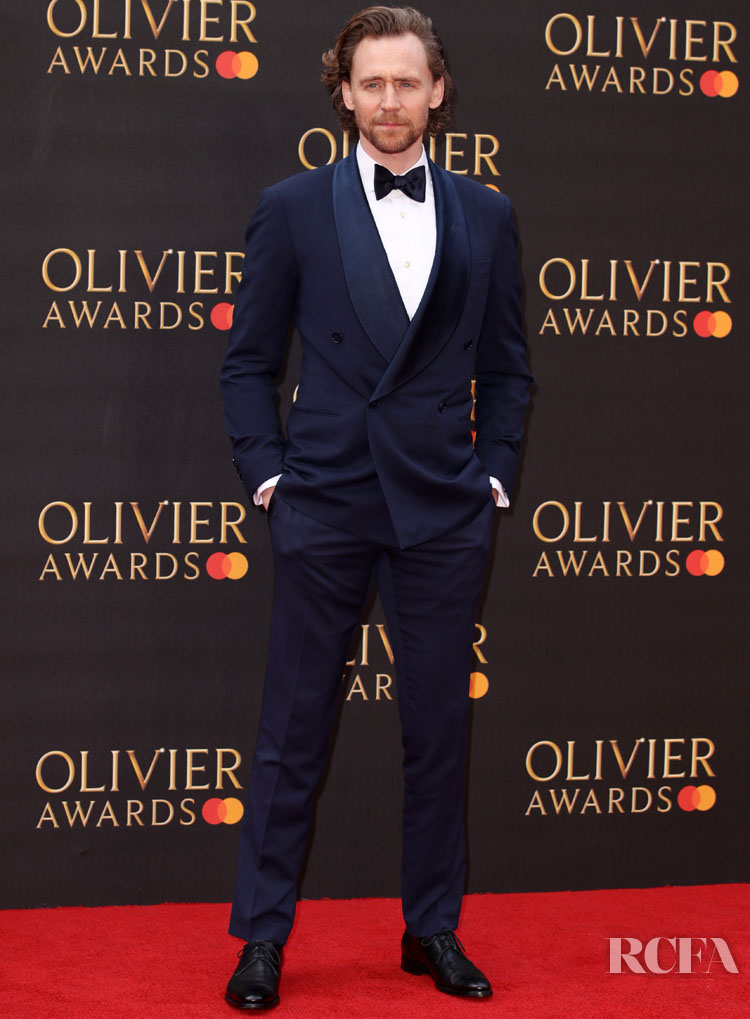 Tom Hiddleston in Ralph Lauren - 2019 Laurence Olivier Awards