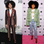 Yara Shahidi Fall's Forward Twice This Weekend