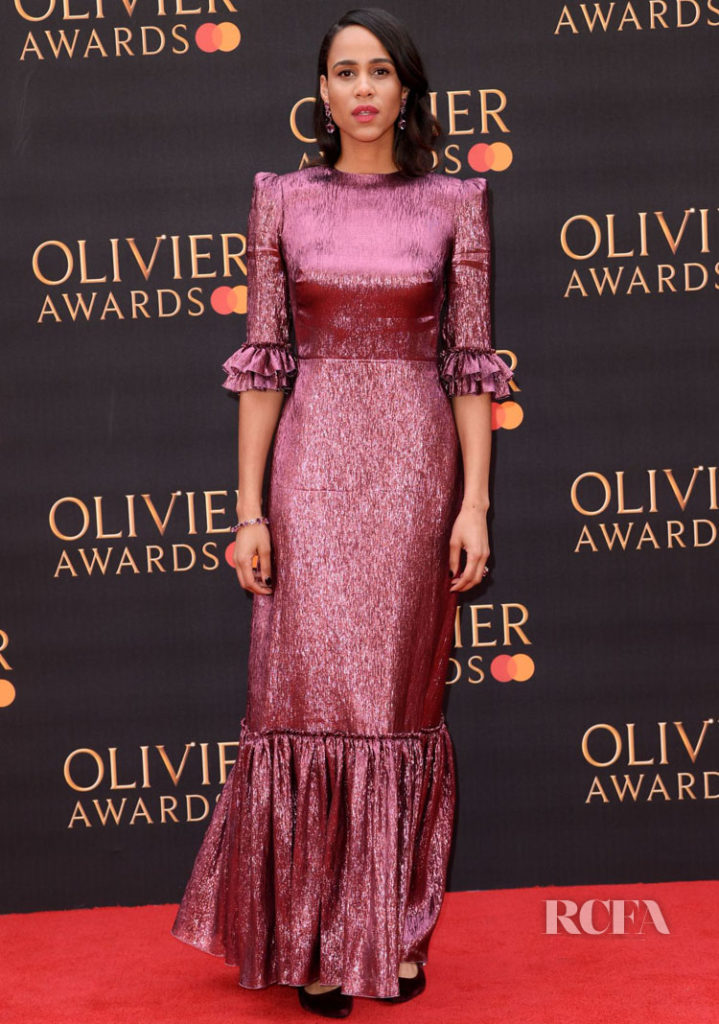 Zawe Ashton in the Vampires Wife - Olivier Awards 2019