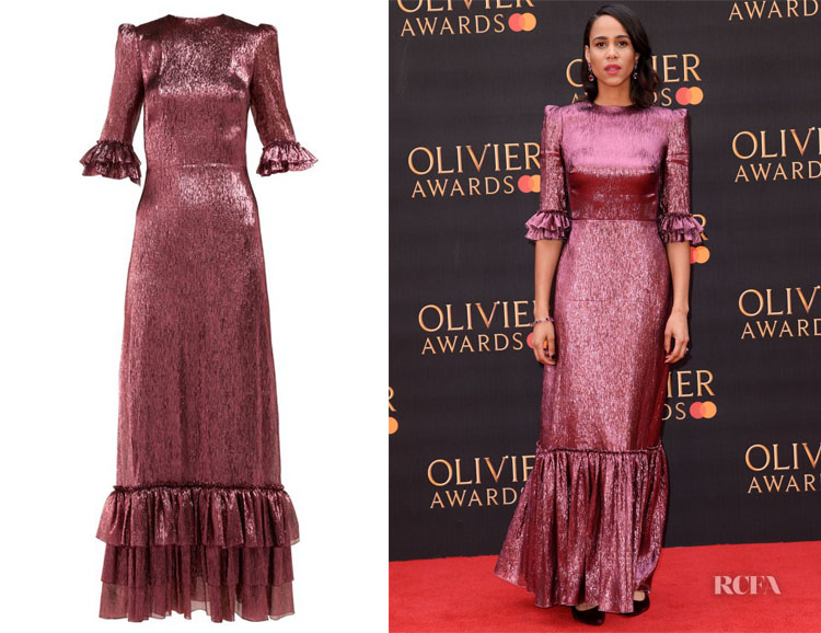 Zawe Ashton's The Vampire's Wife Belle Dress
