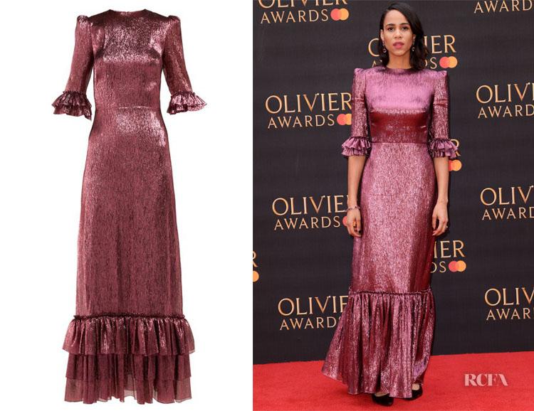 Zawe Ashton's The Vampire's Wife Belle Dress