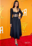 Zoe Saldana Goes Back To Black For The 'Missing Link' New York Premiere
