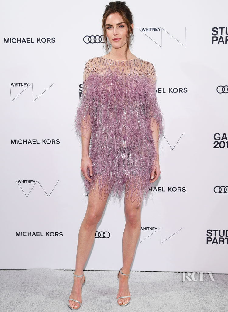 Hilary Rhoda In Pamella Roland - Whitney Museum Of American Art Gala + Studio Party.jpg