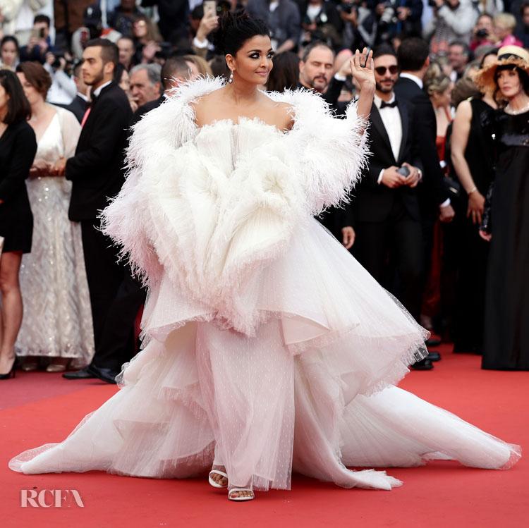Aishwarya Rai In Ashi Studio Haute Couture - 'La Belle Epoque' Cannes Film Festival Premiere