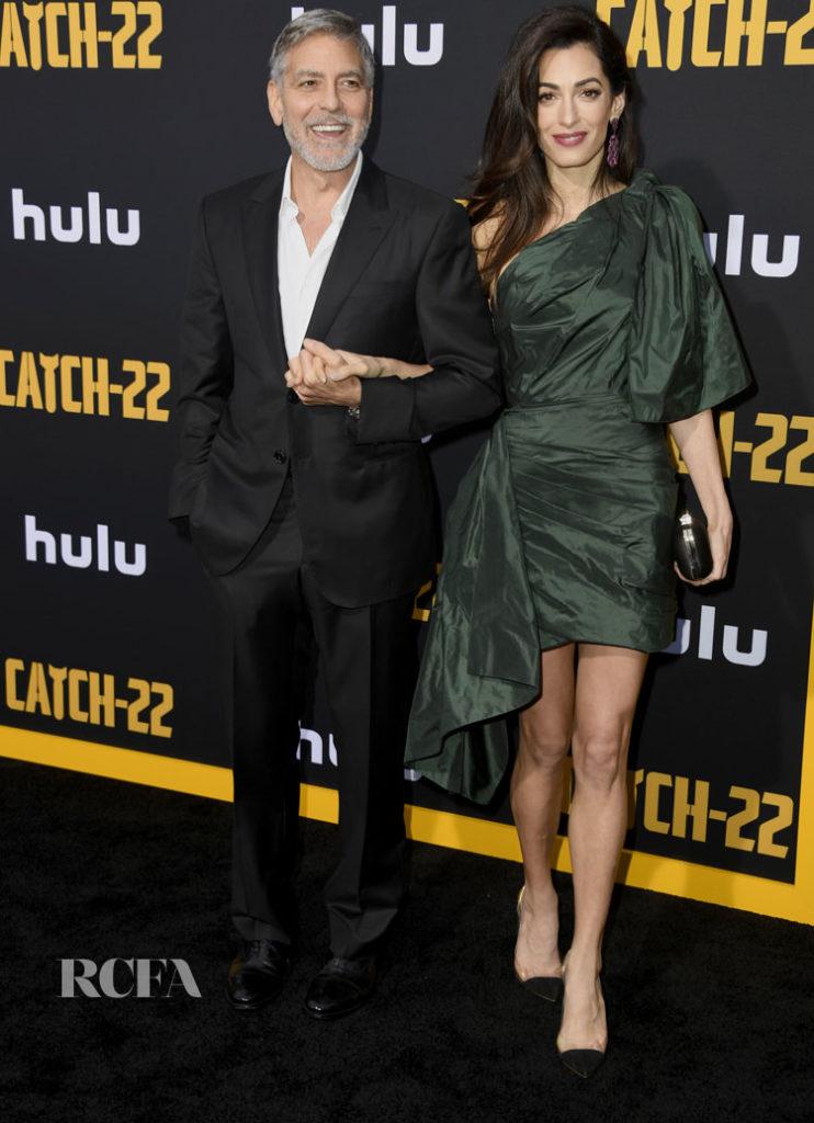 Amal Clooney Oscar de la Renta 'Catch-22' LA Premiere.eps