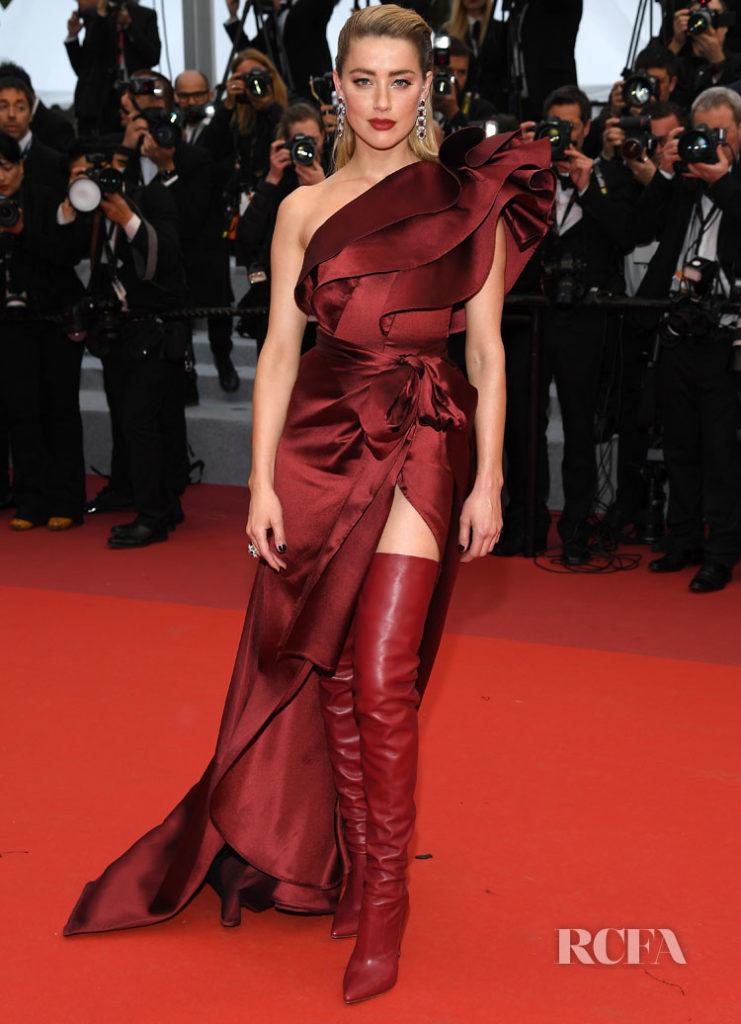 Amber Heard In Elie Saab - 'Pain And Glory (Dolor Y Gloria/ Douleur Et Glorie)' Cannes Film Festival Premiere
