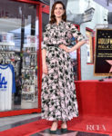Anne Hathaway Is Honored With A Star On The Hollywood Walk of Fame