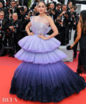 Araya A. Hargate In Ralph & Russo Couture - 'The Dead Don't Die' Cannes Film Festival Premiere & Opening Ceremony