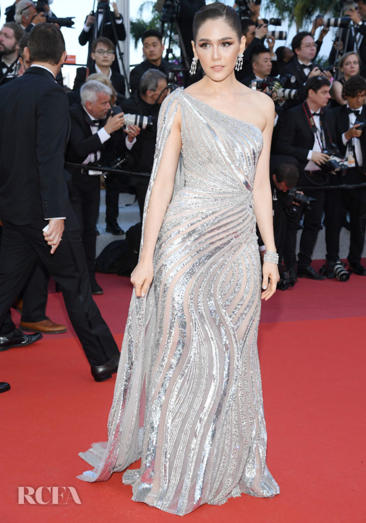Araya A. Hargate In Zuhair Murad Couture - 'Rocketman' Cannes Film Festival Premiere