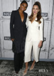 Gabrielle Union & Jessica Alba Promote 'L.A.'s Finest' At Build Series