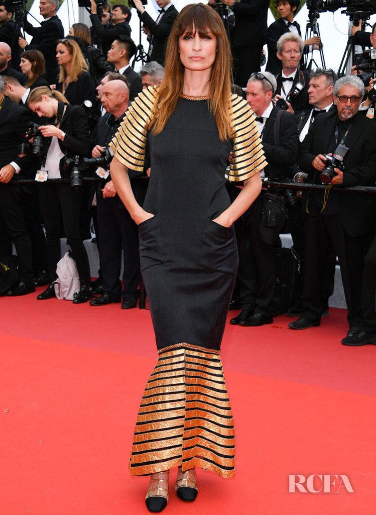 Caroline de Maigret In Chanel - 'The Dead Don't Die' Cannes Film Festival Premiere & Opening Ceremony
