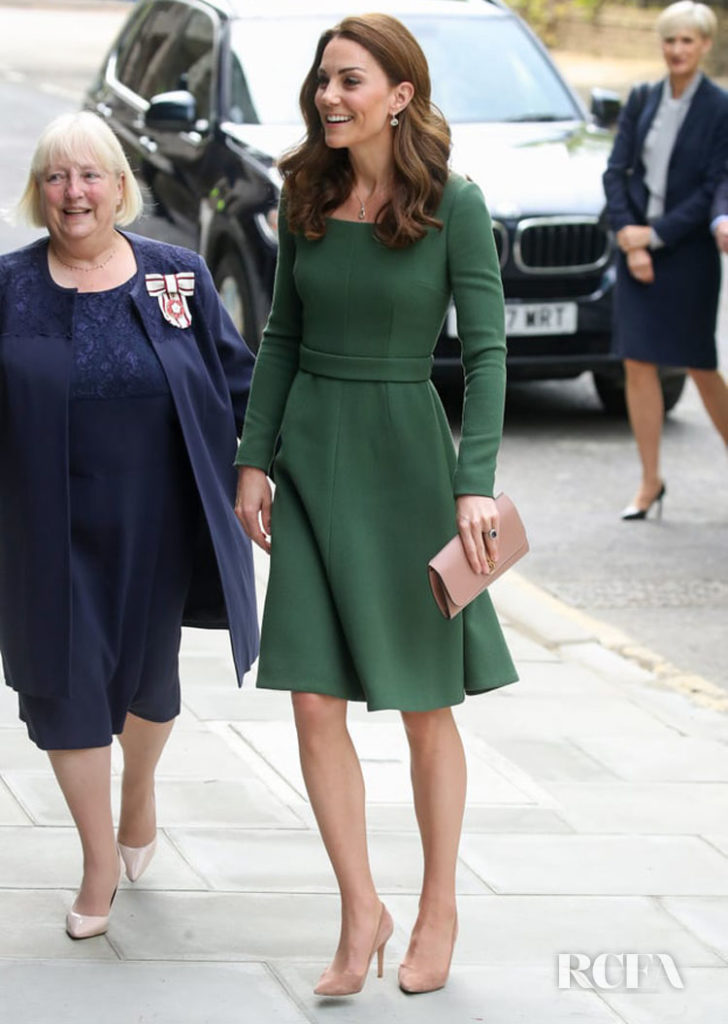 Catherine, Duchess of Cambridge Adds A New Green Dress To Her Collection