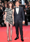 Charlotte Gainsbourg In Saint Laurent - 'The Dead Don't Die' Cannes Film Festival Premiere & Opening Ceremony