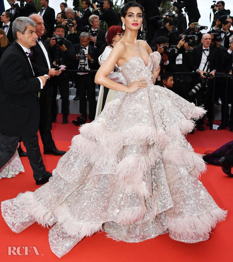 Diana Penty In Nedo by Nedret Taciroglu - 'A Hidden Life' Cannes Film Festival Premiere