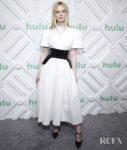 Elle Fanning Christens The 2019 Hulu Upfront Event
