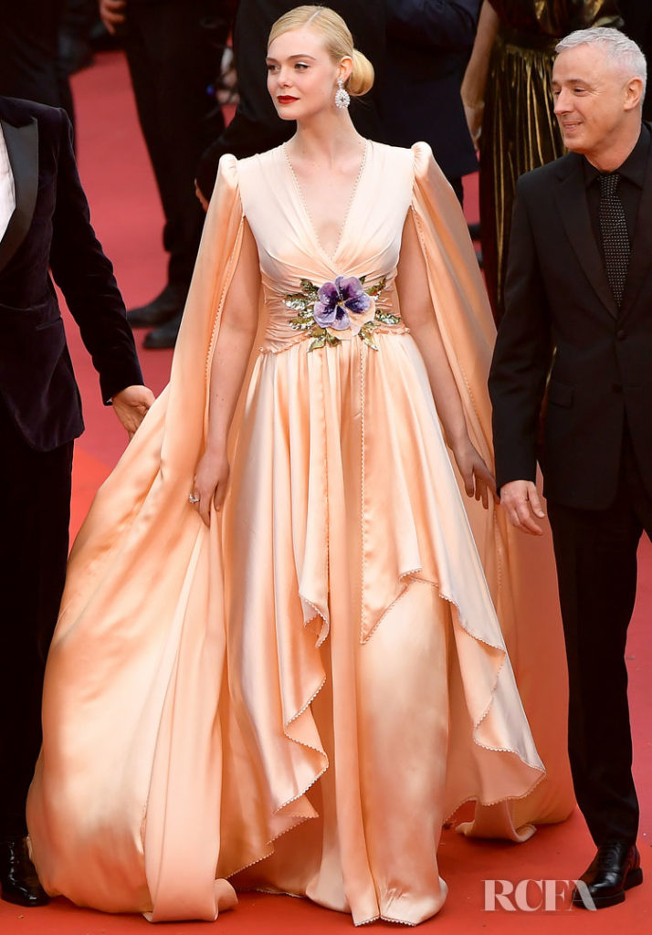Elle Fanning In Gucci - 'The Dead Don't Die' Cannes Film Festival Premiere & Opening Ceremony