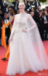 Elle Fanning In Reem Acra - Cannes Film Festival Closing Ceremony