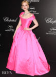 Elle Fanning In Vivienne Westwood Couture - 'Love Night' Chopard Gala