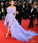 Elsa Hosk In Alberta Ferretti  - 'Sibyl' Cannes Film Festival Premiere