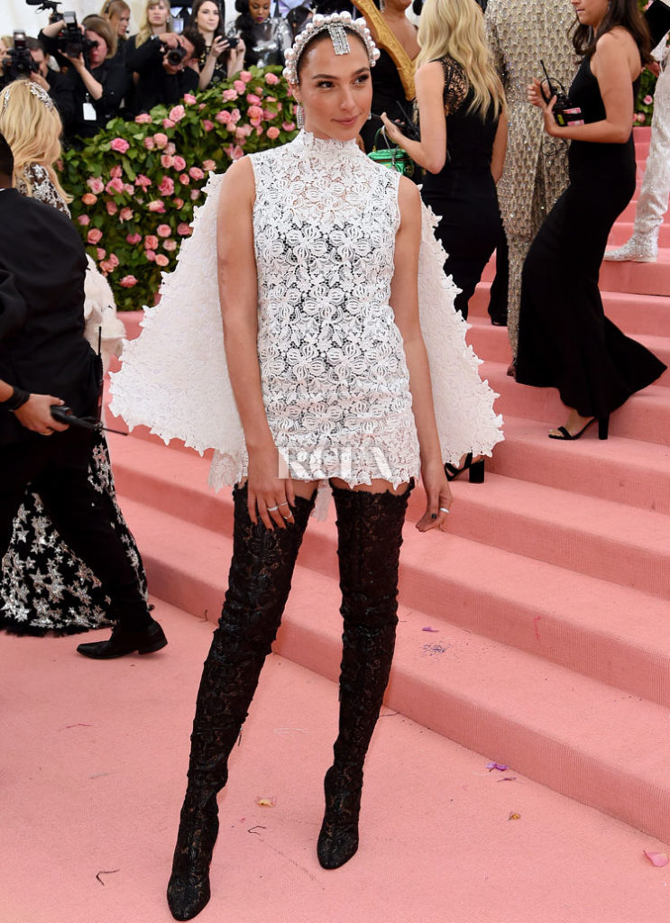 Gal Gadot In Givenchy Haute Couture  - 2019 Met Gala