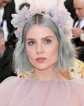 Lucy Boynton's Pastel Blue Hair For The 2019 Met Gala