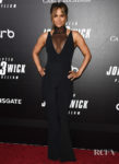 Halle Berry Rocks A Sexy Jumpsuit For The 'John Wick: Chapter 3' World Premiere