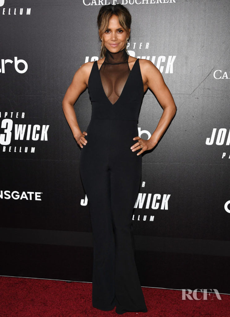 Halle Berry In  CUSHNIE  'John Wick: Chapter 3' World Premiere