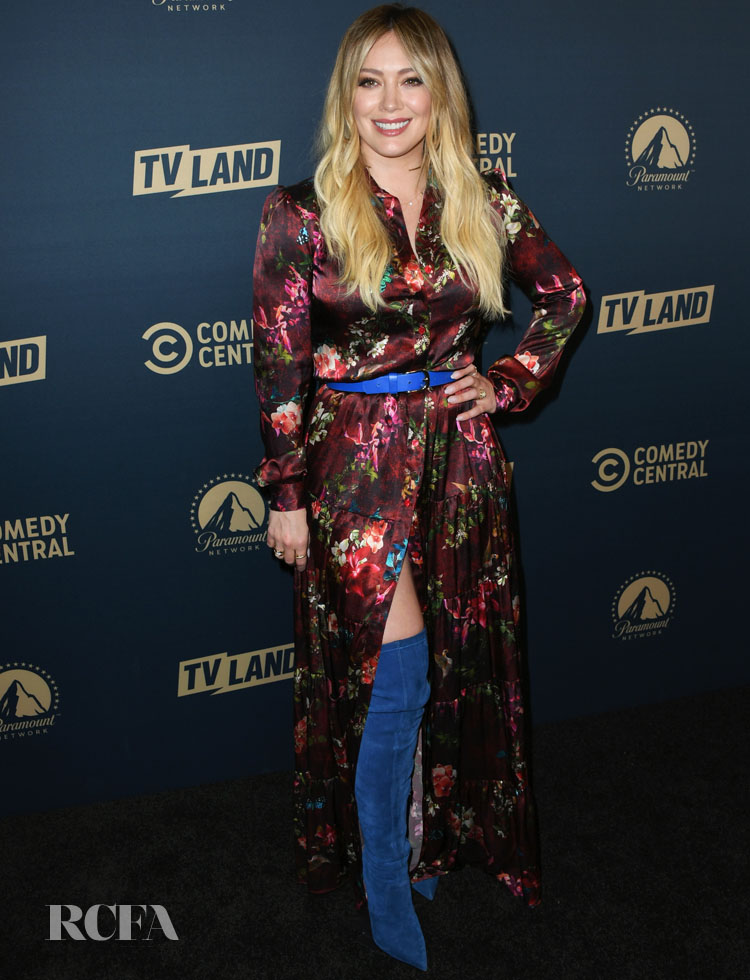 Hilary Duff in Adriana Iglesias - Comedy Central, Paramount Network and TV Land Summer Press Day