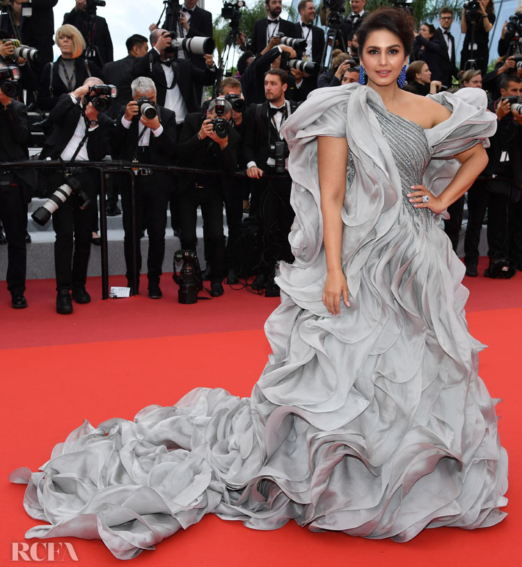 Huma Qureshi In Gaurav Gupta Couture - 'A Hidden Life' Cannes Film Festival Premiere