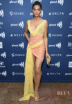 Indya Moore Was Wrapped Up At The GLAAD Media Awards