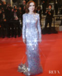 Isabelle Huppert In Armani Prive - 'Frankie' Cannes Film Festival Premiere