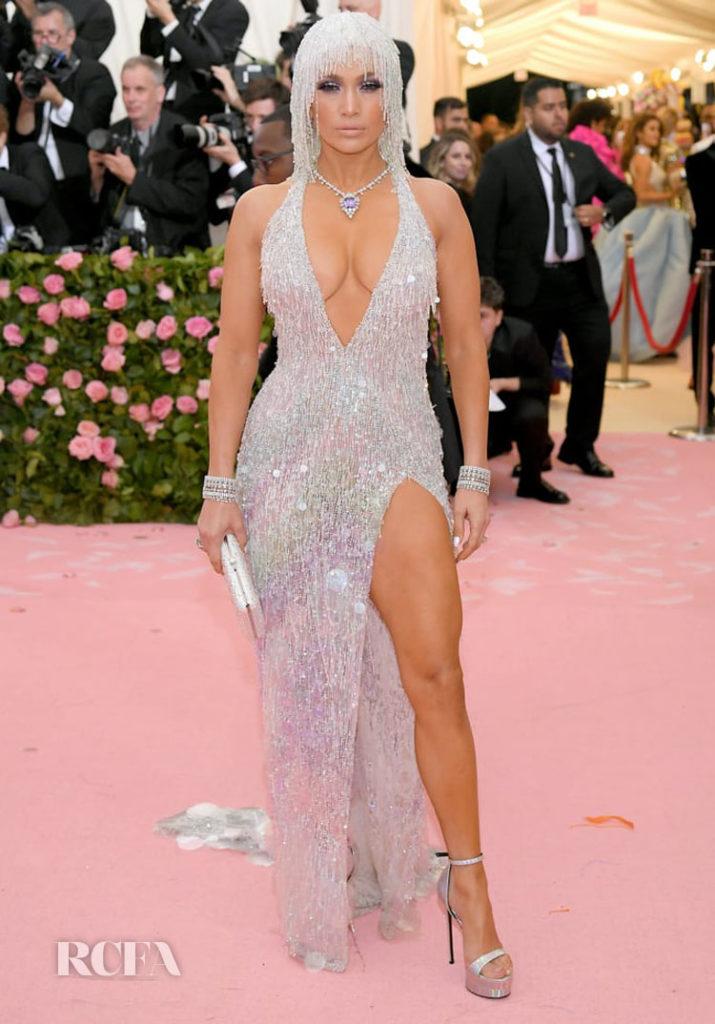 Jennifer Lopez In Atelier Versace - 2019 Met Gala