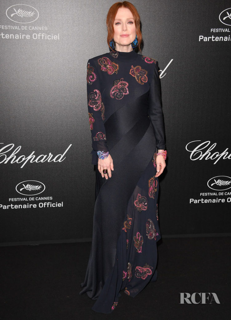 Julianne Moore In Chloe - Chopard Love Night Photocall