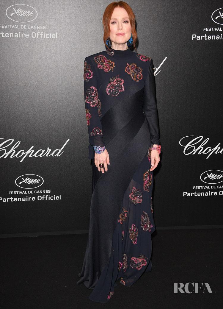 Julianne Moore In Chloe - Chopard Love Night Photocall