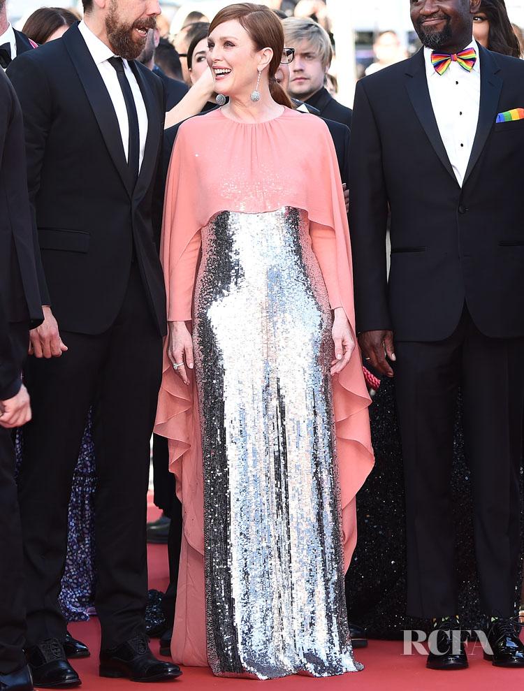 Julianne Moore In Givenchy Haute Couture - 'Rocketman' Cannes Film Festival Premiere