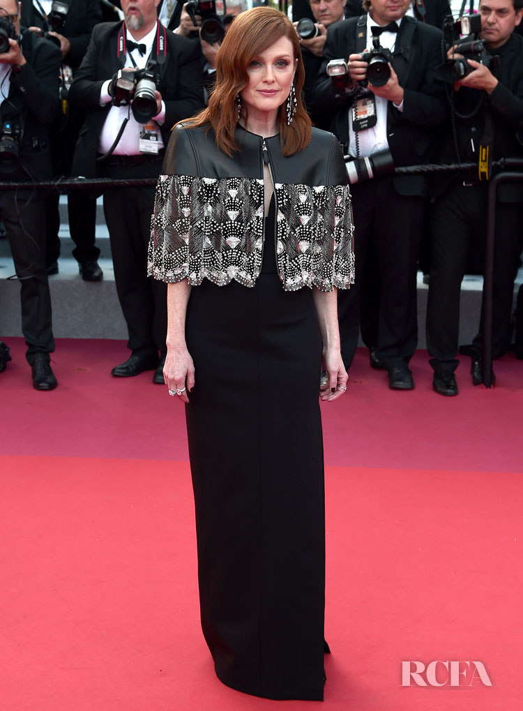 Julianne Moore In Louis Vuitton - 'Les Miserables' Cannes Film Festival Premiere