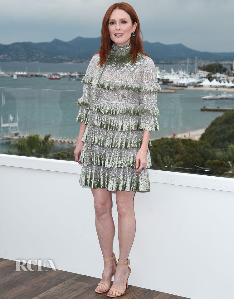 Julianne Moore In Valentino - 'The Staggering Girl' Cannes Film Festival Photocall