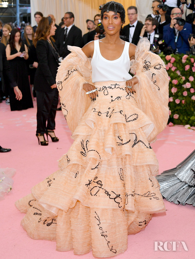 Kerry Washington In Tory Burch - 2019 Met Gala
