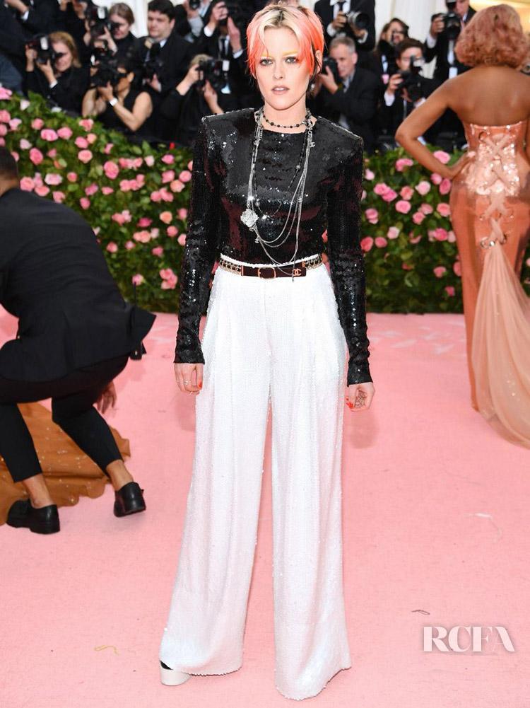 Kristen Stewart In Chanel - 2019 Met Gala