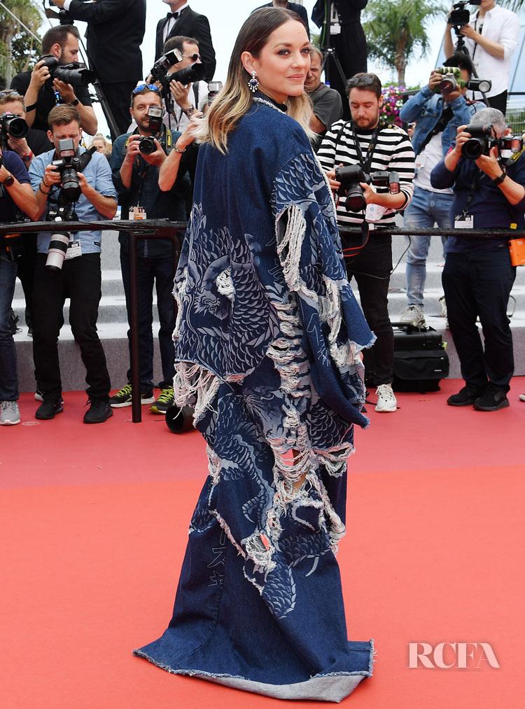 Marion Cotillard In Balmain & Ludovic de Saint Sernin - 'Matthias Et Maxime' Cannes Film Festival Premiere